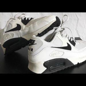Black and White Air Maxes
